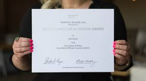corporate design award atomicdust a top winner in national health wellness design awards