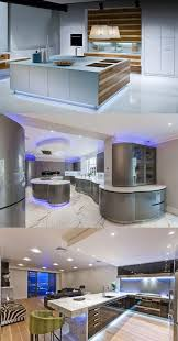 Kitchen Led Lighting Futuristic Kitchen Led Lighting Interior Design