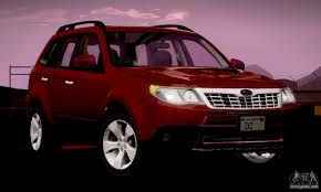 subaru forester red 2017 subaru forester for gta san andreas