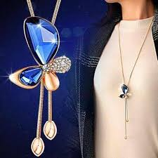 long butterfly necklace images Buy popula butterfly long locket at best price on bangladesh jpg