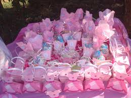 baby shower favors to make photo pink and brown image