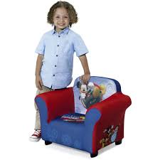 Mickey Mouse Patio Chair by Delta Children Mickey Mouse Upholstered Chair Walmart Com