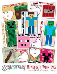 minecraft valentines cards printable minecraft valentines cards for the class craft laundry