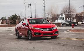 2014 honda civic coupe cvt test u2013 review u2013 car and driver