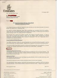 termination truth about emirates airline management