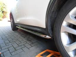 nissan juke exhaust problems nissan juke stainless steel side bars side steps 4x4