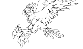 harpy eagle coloring page harpy eagle perched on a branch coloring