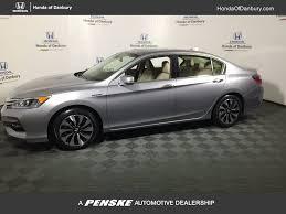 2017 new honda accord hybrid ex l sedan at honda of danbury