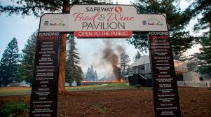 Wildfire Evacuation Stages by Wildfires Rip Through Napa Valley Hours After Safeway Open Golf Com