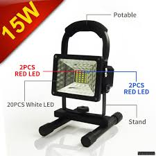 vaincre 15w 24led outdoor floodlight camping lights portable led