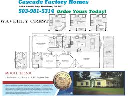 fleetwood mobile home floor plans waverly crest floor plan