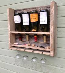 small reclaimed pine wine rack home kitchen u0026 pantry del