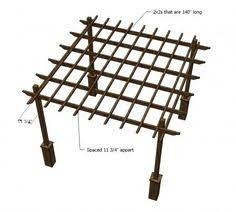 Easy Diy Pergola by Build To Suit Pergola Woodworking Plan Outdoor Spaces