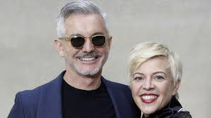 baz luhrmann and wife catherine martin cut stylish look along a
