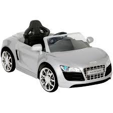 Audi R8 Silver - 6v audi r8 apollo car in silver