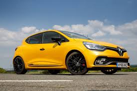 renault yellow 2017 renault clio rs 220 trophy edc review
