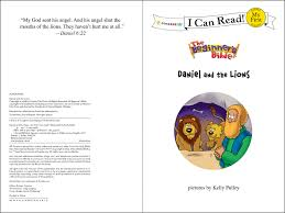 the beginner u0027s bible daniel and the lions i can read the