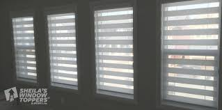 concept dual roller shades sheila u0027s window toppers and more ltd