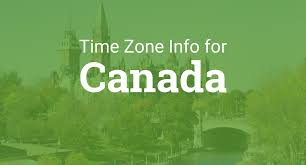 United States Time Zone Map by Time Zones In Canada