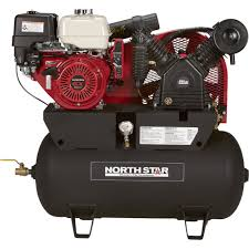 free shipping u2014 northstar portable gas powered air compressor