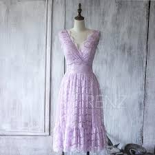2016 light purple lace bridesmaid dress short orchid elegant dress
