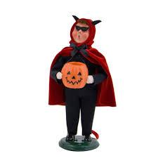 halloween figurines lori mitchell byers choice u2013 devil wooden duck shoppe