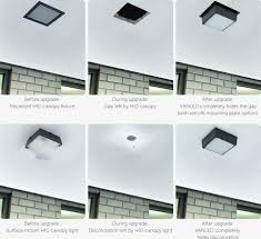 ceiling canopies for light fixtures led canopy lights rab lighting