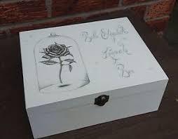 Personalised Keepsake Box Shabby Vintage Chic Beauty U0026 The Beast Personalised Memory Box