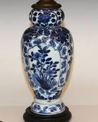 Chinese Blue And White Vase Antique Chinese Porcelain Kangxi 18th Century Blue And White Vase