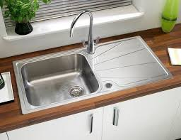 Kitchen Sinks With Drainboards Beautiful Idea Kitchen Sinks With Drainboards Single Bowl Sink