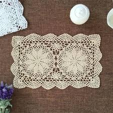Fine Table Linens by Wholesale Wedding Centerpieces 100 Handmade Crochet Table Mats