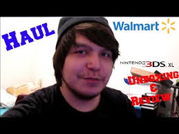 3ds xl walmart black friday walmart haul and unboxing nintendo 3ds xl review youtube