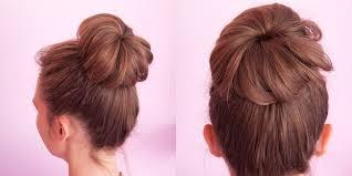 tutorial rambut tutorial praktis cepol rambut pakai kaos kaki untuk si rambut tipis