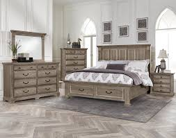 Driftwood Bedroom Furniture Woodlands King Bedroom By Vaughan Bassett The New Crib
