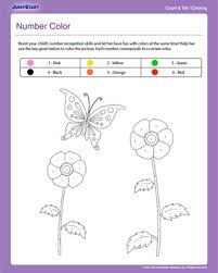 coloring pages number color free counting u0026 coloring worksheet