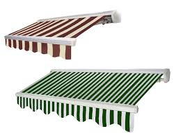 Striped Awning Retractable Awnings Nyc Restaurant Bar Rollup Awning Brooklyn