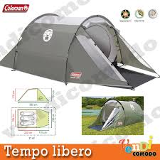 coleman tende coleman tent coastline 3 compact x 3 persons 6 sq m cing