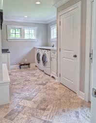 Laundry Room In Bathroom Ideas Laundry Room Floor Tile Tumble 8x16 Silver Travertine Laundry