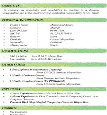 resume format for in word resume format word ideas collection sle in ms also