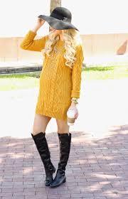 yellow sweater dress a spoonful of style mustard sweater dress