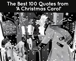 100 quotes from a christmas carol