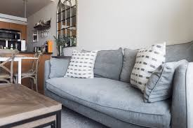 How To Choose A Couch Our Sofa A 500 Giveaway The View From 5 Ft 2