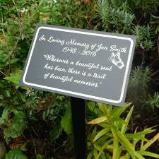 garden markers a beautiful soul personalized garden marker tree dedication