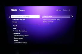 tv l reset how to reset your roku box or streaming stick