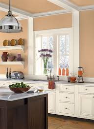 orange kitchen ideas creamsicle orange kitchen paint color schemes