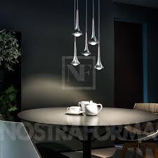 pendelleuchte design studio italia design pendelleuchte mit 5 leuchten rund