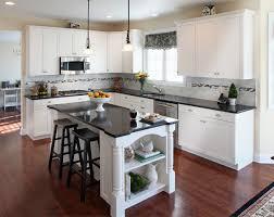 dark granite countertops with oak cabinets u2014 home ideas collection