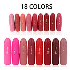 Fabuloso Aliexpress.com : Buy 18pcs/lot Miss Rose Velvet Matte Lipstick  #TB48