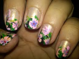 flower nail designs 2 prev next black flower nails design