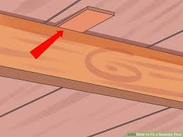Floor Joist Repair How To Fix A Squeaky Floor 10 Steps With Pictures Wikihow